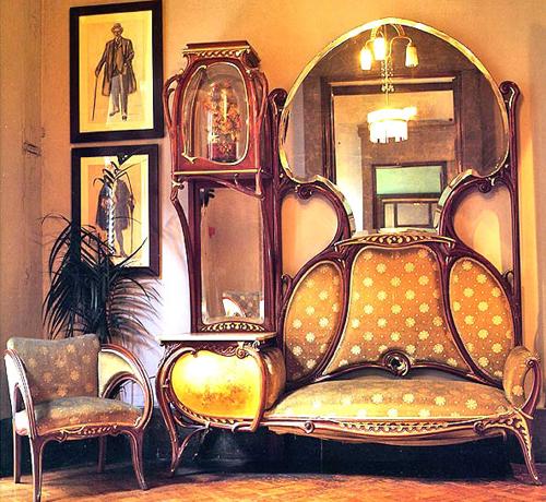 Мебель для интерьера в стиле модерн