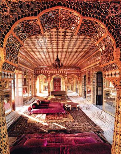 Индийские стиль в интерьере