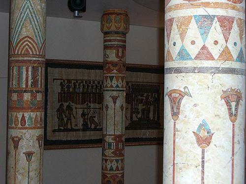 Египетский стиль в интерьере.
