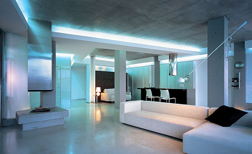 хай-тек дизайны квартир фото