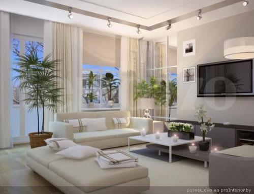 Проекты трехкомнатных квартир фото