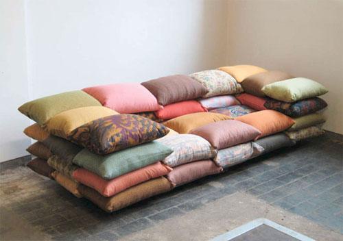 Как перешить подушку для дивана