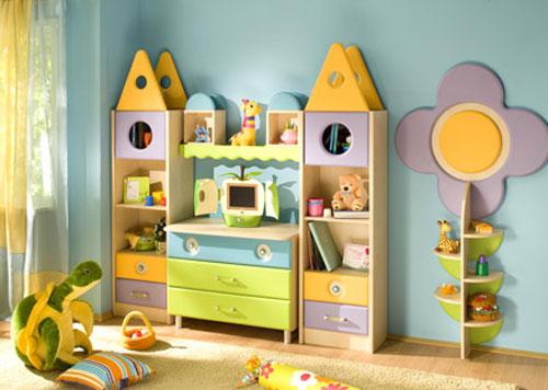 Интерьер и мебель для детской комнаты